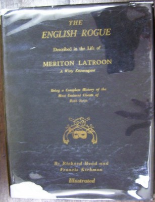 Image for The English Rogue Described in the Life of Meriton Latroon a Witty Extravagant