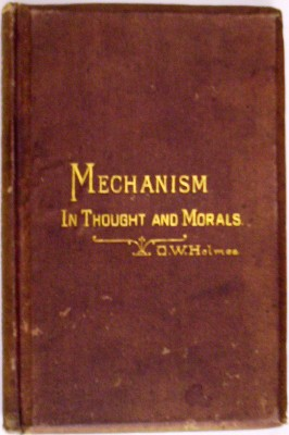 Image for Mechanism in Thought and Morals