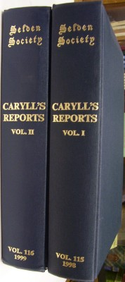 Image for Reports of Cases by John Caryll Part I 1485-1499 and Part II 1501-1522