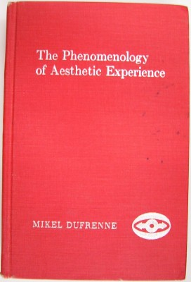 Image for Phenomenology of Aesthetic Experience