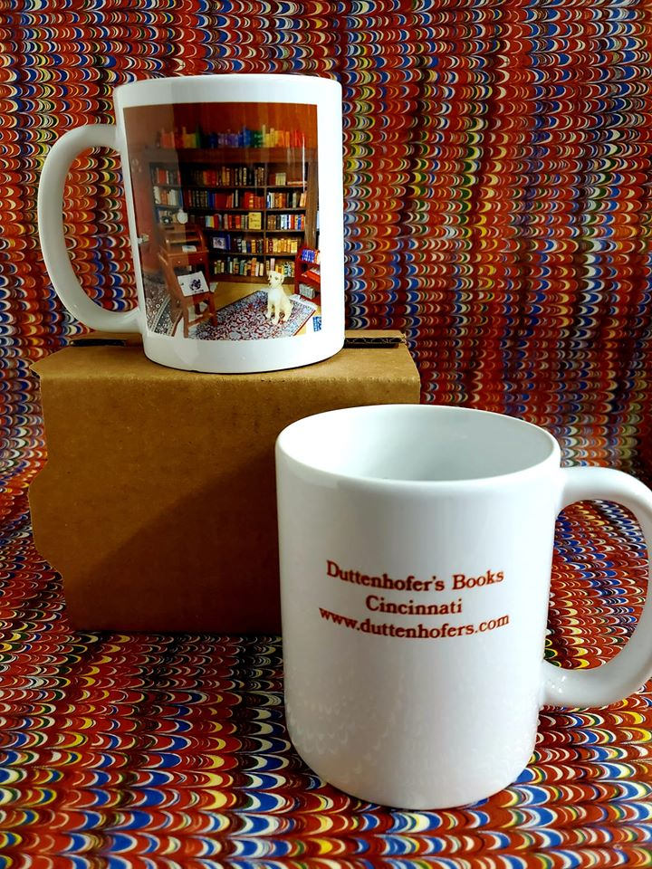 Image for Mug showing 1/12th scale bookshop